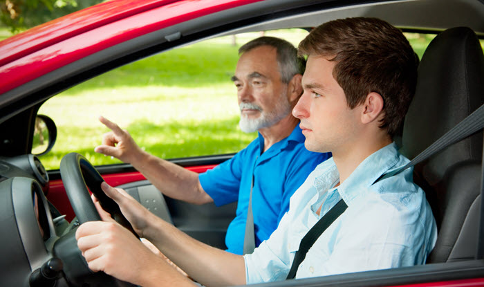 Intensive driving course itinerary